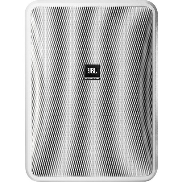 JBL Professional Control 28-1 2-way Indoor/Outdoor Wall Mountable Speaker - 90 W RMS - White - CONTROL 28-1