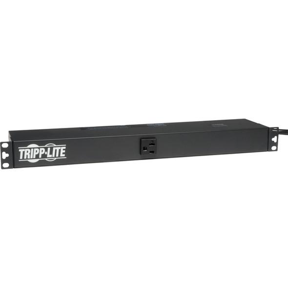 Tripp Lite PDU Basic 120V 20A L5-20P 13 Outlet 15 ft Cord - PDU1220T
