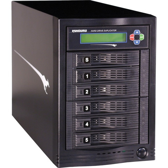KanguruClone Hard Drive Duplicator 5HD-Tower - KCLONE-5HD-TWR