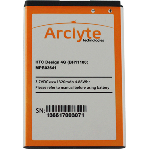 Arclyte HTC Batt Acquire; ADR6285; EVO Design 4G - MPB03641