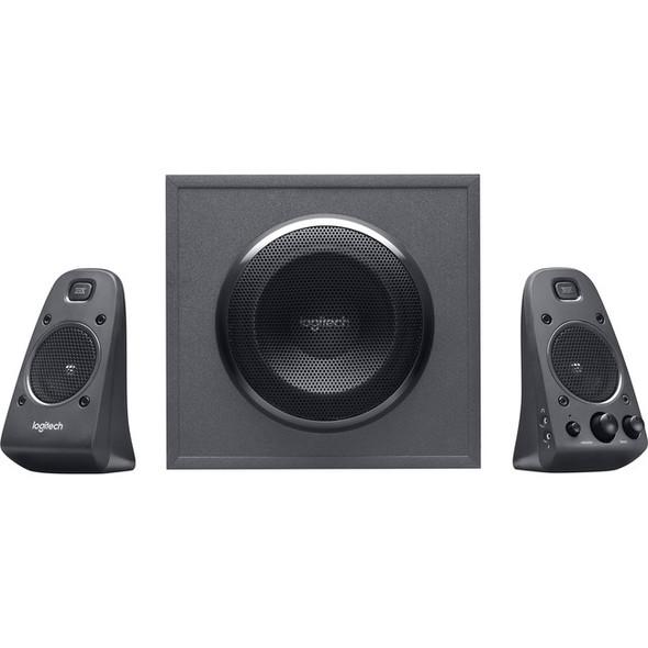 Logitech Z625 2.1 Speaker System - 200 W RMS - Black - 980-001258
