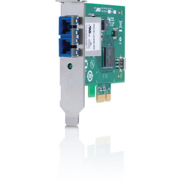 Allied Telesis 1000SX ST PCI Express x1 Adapter Card - AT-2911SX/ST-901