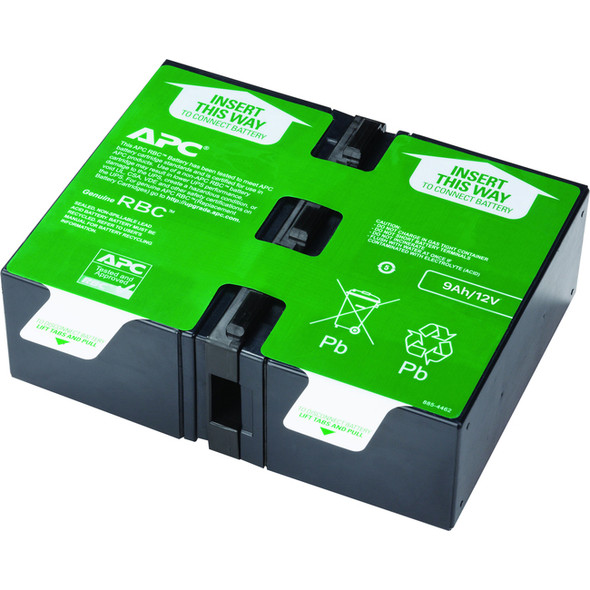 APC by Schneider Electric APCRBC124 UPS Replacement Battery Cartridge # 124 - APCRBC124