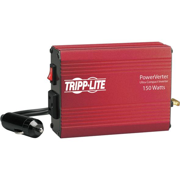 Tripp Lite Portable Auto Inverter 150W 12V DC to 120V AC 1 Outlet 5-15R - PV150