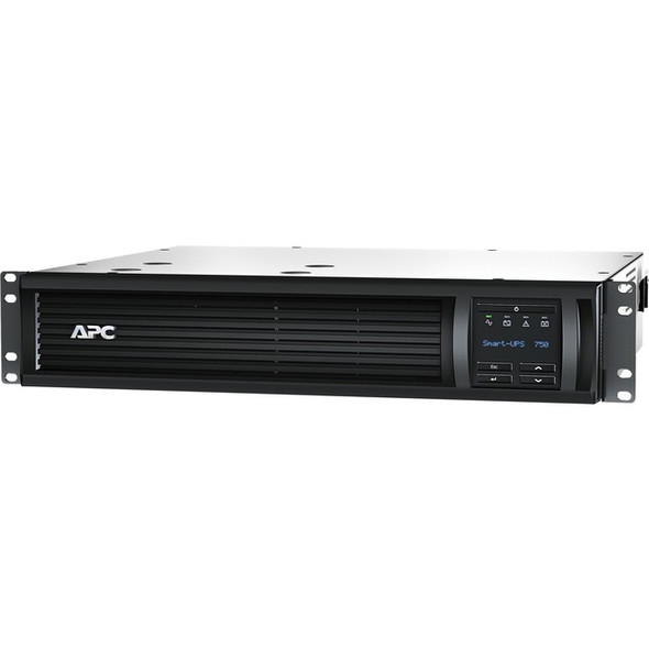APC by Schneider Electric APC Smart-UPS 750VA LCD RM 120V with Network Card - SMT750RM2UNC