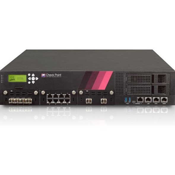 Check Point 15600 High Availability Firewall - CPAP-SG15600-NGTP-HPP-SSD-LCM
