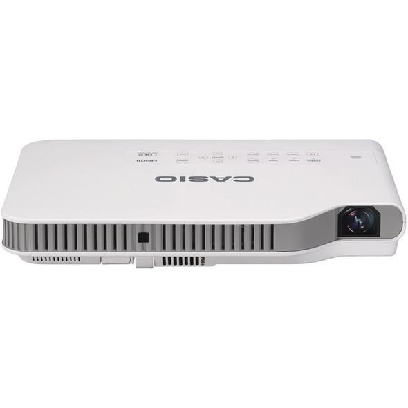 Casio Slim XJ-A252 DLP Projector - 16:10 - White, Light Gray - XJ-A252