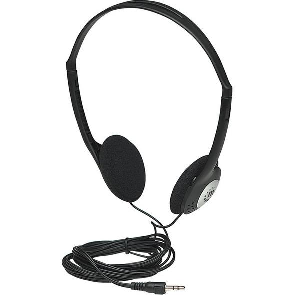 Manhattan Lightweight Stereo Headphones with Cushioned Earpads - 177481