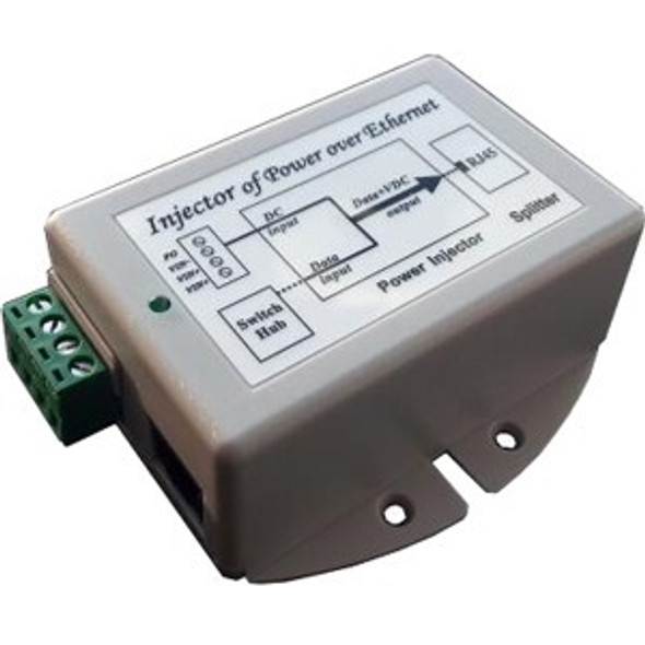 Tycon Systems Gigabit 36-72vdc In 24v Poe Out 24w Dc - TP-DCDC-4824G