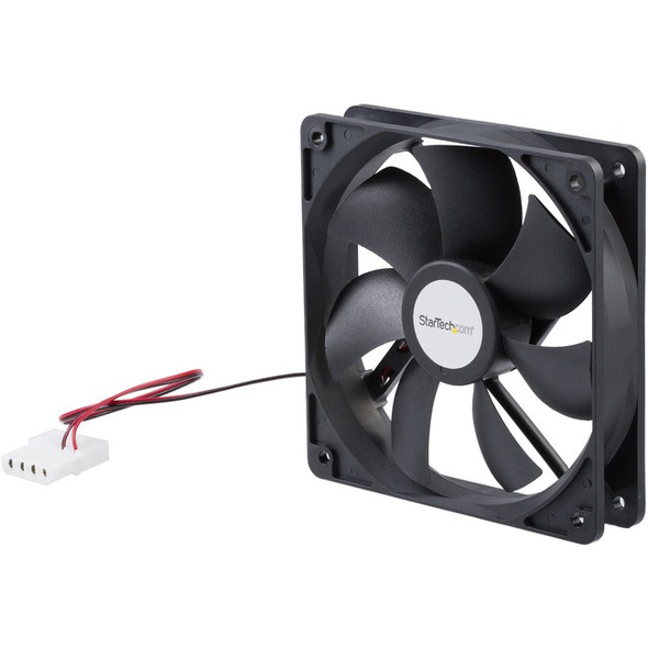 StarTech 120x25mm Dual Ball Bearing Computer Case Fan w/ LP4 Connector - FANBOX12