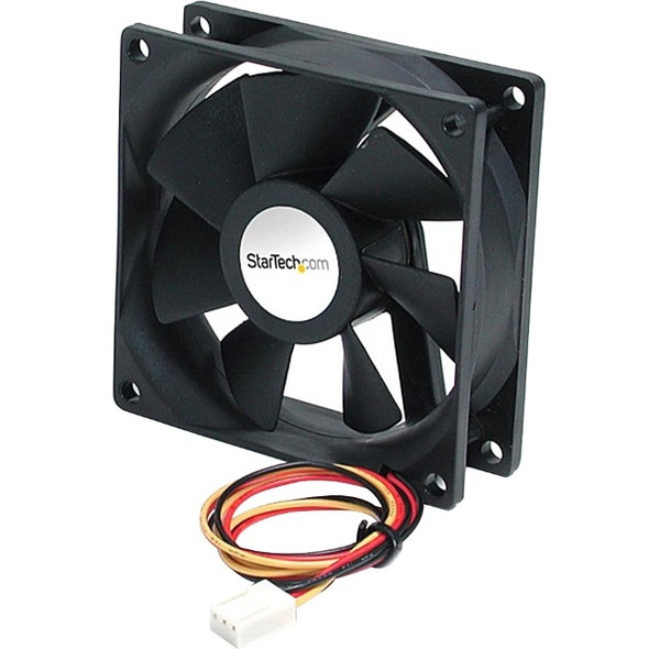 StarTech 92x25mm Ball Bearing Quiet Computer Case Fan w/ TX3 Connector - FAN9X25TX3L