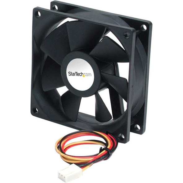 StarTech 90x25mm High Air Flow Dual Ball Bearing PC Case Fan - FAN9X25TX3H