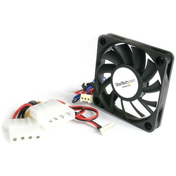 StarTech Replacement 50mm Ball Bearing CPU Case Fan - LP4 - TX3 Connector - System fan kit - 60 mm - FAN5X1TX3