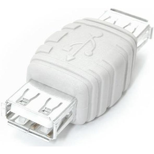 StarTech - USB gender changer - 4 pin USB Type A (F) - 4 pin USB Type A (F) - GCUSBAAFF