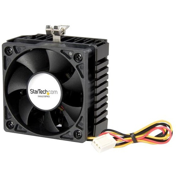 StarTech 65x60x45mm Socket 7/370 CPU Cooler Fan w/ Heatsink & TX3 connector - Processor cooler - ( Socket 370, Socket 7 ) - FAN370PRO