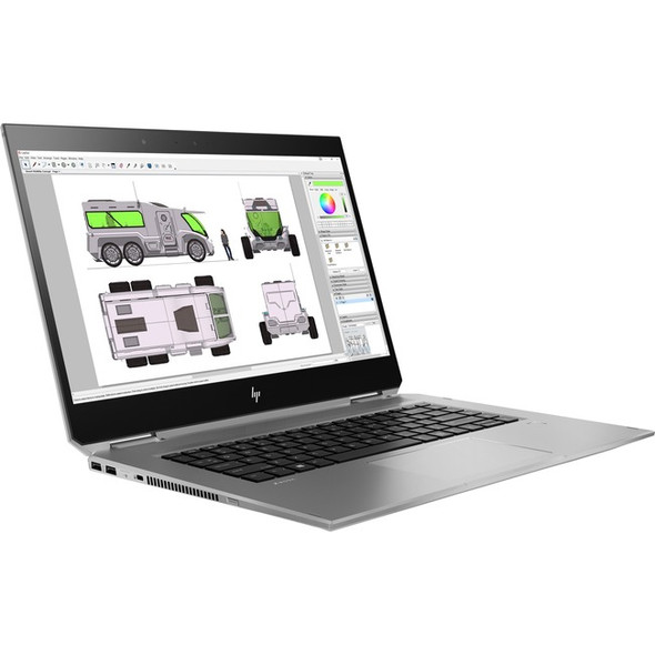 "HP ZBook Studio x360 G5 15.6"" Touchscreen 2 in 1 Mobile Workstation - Core i9 i9-8950HK - 32 GB RAM - 512 GB SSD - 6FP02UT#ABA"