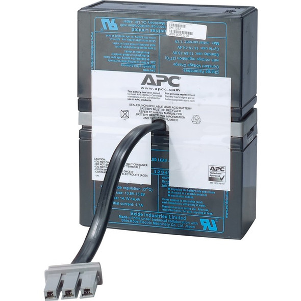Apc By Schneider Electric Ups Battery - Lead-acid Battery - Internal - RBC33