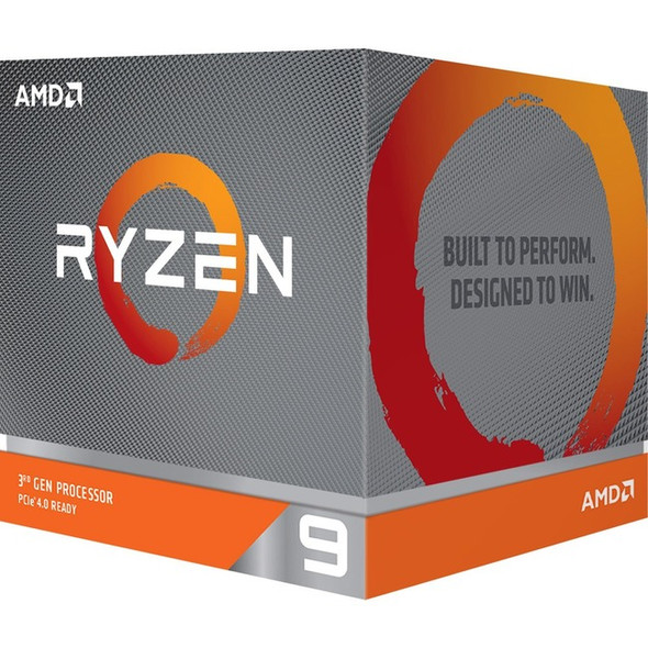 AMD Ryzen 9 3900X Dodeca-core (12 Core) 3.80 GHz Processor - Retail Pack - 100-100000023BOX