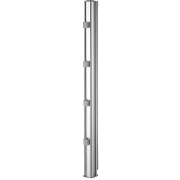 """Atdec 29.5"""" Post Silver - AWM-P75-S"""