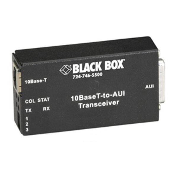 Black Box 10BASE-T to AUI Transceiver - LE180A