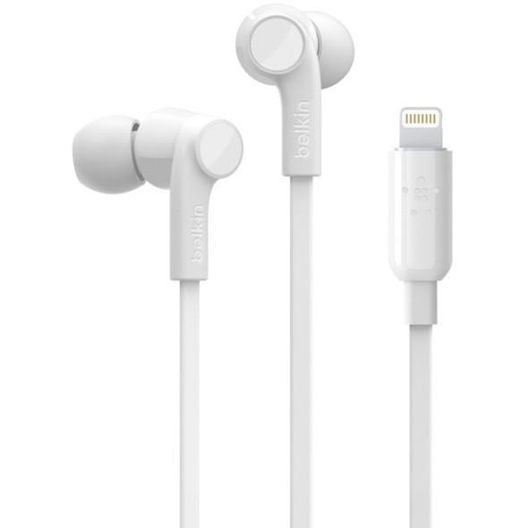 Belkin ROCKSTAR Headphones with Lightning Connector - G3H0001BTWHT