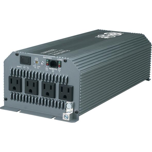 Tripp Lite Compact Inverter 1800W 12V DC to 120V AC 4 Outlets 5-15R - PV1800HF