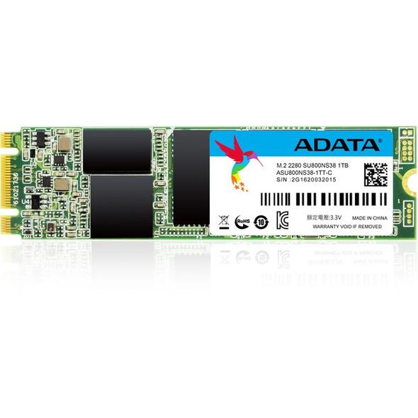 Adata Ultimate SU800 1 TB Solid State Drive - M.2 2280 Internal - SATA (SATA/600) - ASU800NS38-1TT-C