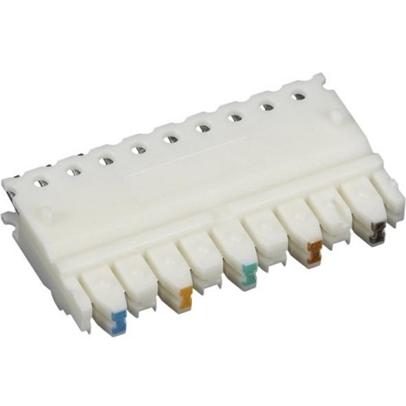 Black Box CAT5e Connecting Block, 5-Pair, 10-Pack - JPT5E-5PR-10PAK