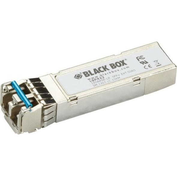 Black Box 10GBASE-SR SFP+, 1310-nm Single-Mode, 10 km, LC - LSP422