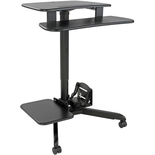 Tripp Lite Mobile Workstation Standing Desk Rolling Cart Height-Adjustable - WWSSRDSTC