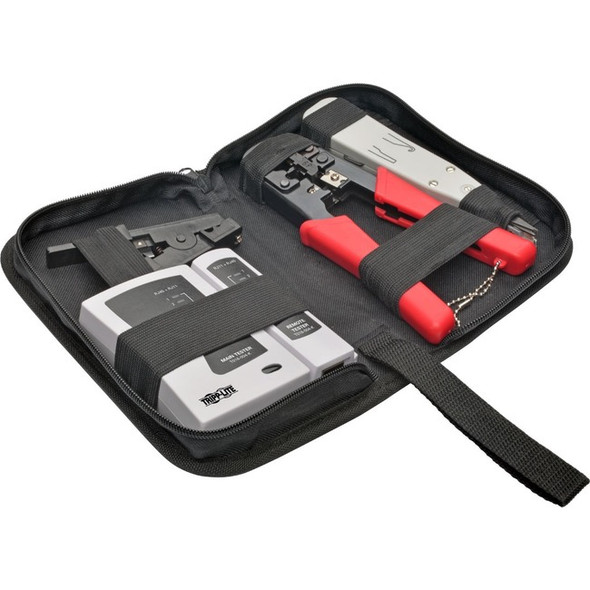 Tripp Lite 4-Piece Network Installer Tool Kit with Carrying Case - T016-004-K