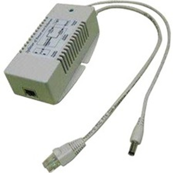 Tycon Power Gigabit 48VDC 802.3at Input, 12VDC @ 2.1A 25W Output - POE-SPLT-4812G