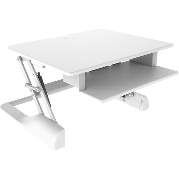 Ergotech Freedom Desk - Height Adjustable Standing Desk - FDM-DESK-W-30