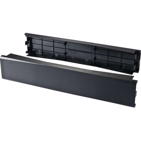 C2G 2 Pack 2U 19in Tool-Less Snap-In Filler Panel - 14632