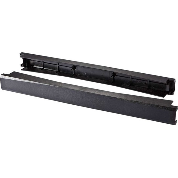 C2G 2 Pack 1U 19in Tool-Less Snap-In Filler Panel - 14631