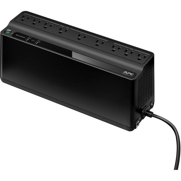 APC by Schneider Electric Back-UPS BE850M2, 850VA, 2 USB charging ports, 120V - BE850M2