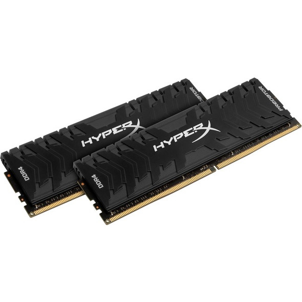Kingston Predator Memory Black - 16GB Kit (2x8GB) - DDR4 3000MHz Intel XMP CL15 DIMM - HX430C15PB3K2/16
