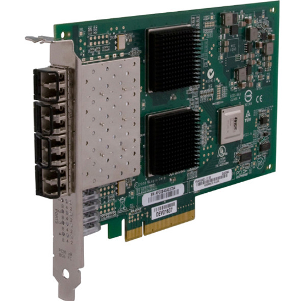 QLogic QLE2564 Fibre Channel Host Bus Adapter - QLE2564-CK