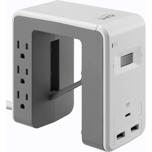 APC by Schneider Electric SurgeArrest Essential 6-Outlet Surge Suppressor/Protector - PE6U21W
