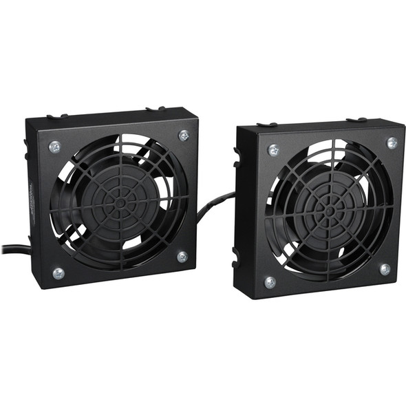 Tripp Lite Wallmount Rack Enclosure Cooling Roof Fan Kit 120V 5-15P - SRFANWM