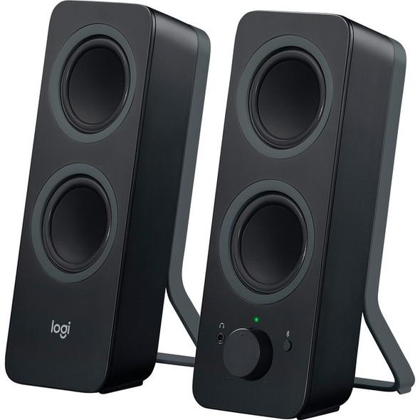 Logitech Z207 Bluetooth Speaker System - 5 W RMS - Black - 980-001294