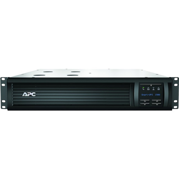APC by Schneider Electric Smart-UPS 1500VA LCD RM 2U 120V with Network Card - SMT1500RM2UNC