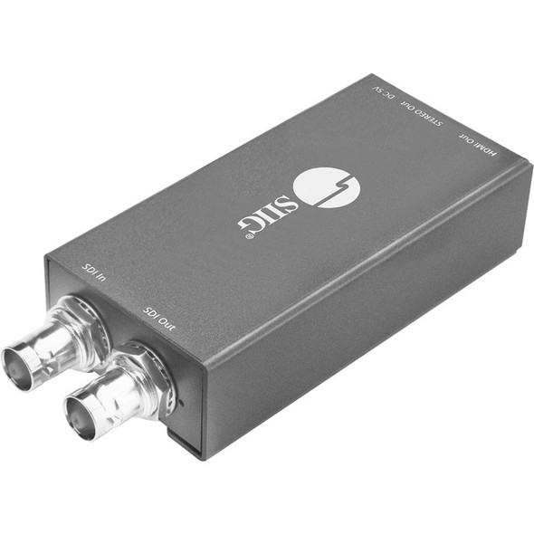 SIIG 3G/HD/SD-SDI to HDMI with Audio Extractor Mini Converter - CE-SD0811-S1