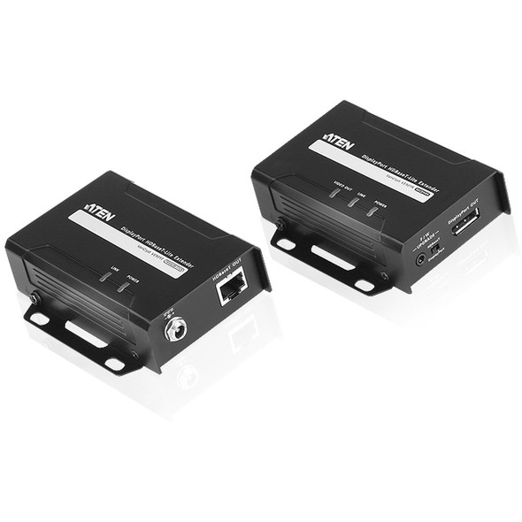 ATEN DisplayPort HDBaseT-Lite Extender (4K@40m; 1080p@70m)-TAA Compliant - VE901