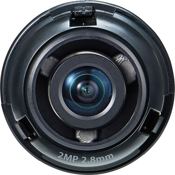 Hanwha Techwin SLA-2M2800D - 2.80 mm - f/2 - Fixed Lens - SLA-2M2800D