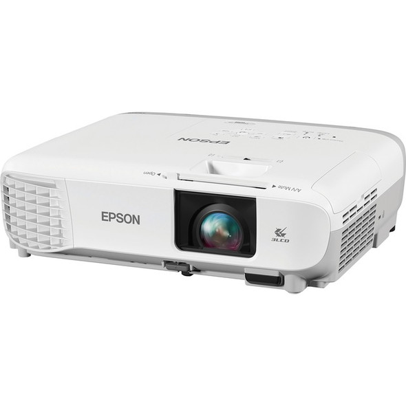 Epson PowerLite 108 LCD Projector - White, Gray - V11H860020