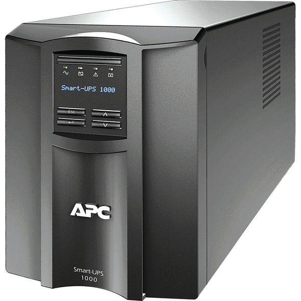 APC by Schneider Electric Smart-UPS 1000VA LCD 120V US - SMT1000US