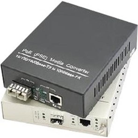 AddOn 10/100/1000Base-TX(RJ-45) to 1000Base-LX(SC) SMF 1310nm 40km Mini Media Converter - ADD-GMCMN-LX-4SC