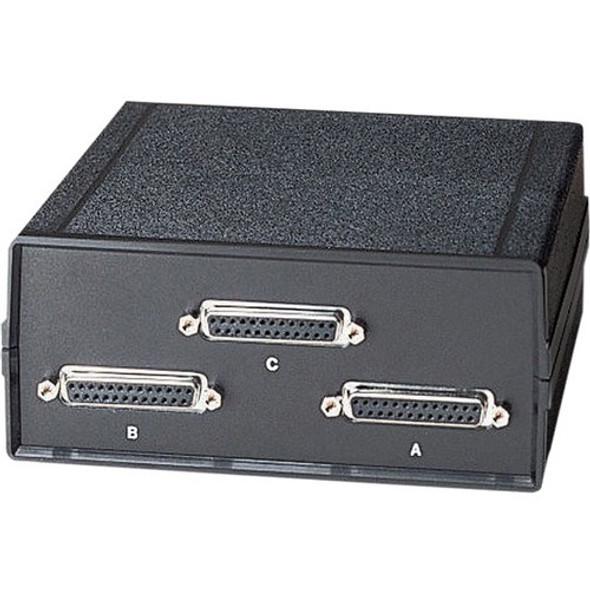Black Box Lifetime DB25 Switches, (3) Female - SWL025A-FFF