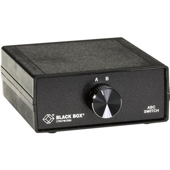 Black Box DB9 Switches, (3) Female - SWL030A-FFF